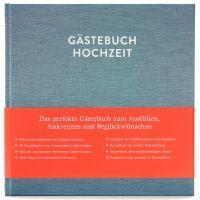 Gästebuch mit Ausfüllseiten Sophie Kobalttürkis