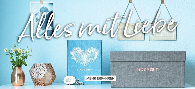 Aufbewahrungsbox Hochzeit und Familienstammbuch Greta