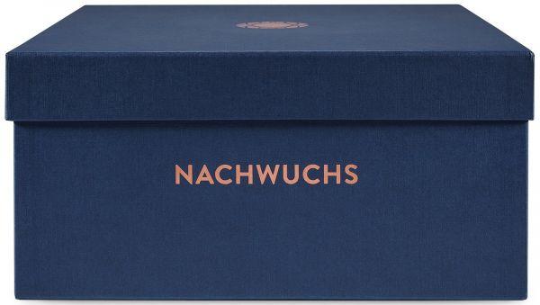Erinnerungsbox Baby Nachtblau Prägung »Nachwuchs«