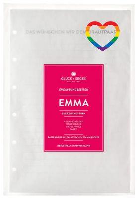 ⚣ ⚢ Emma – Austauschseiten A5 für gleichgeschlechtliche Paare
