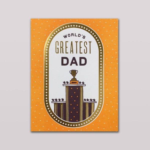 Hammerpress Grußkarte World's Greatest Dad