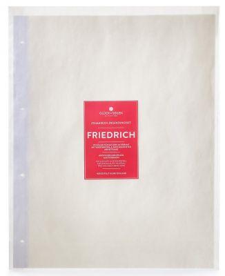Stammbuch-Hüllen Friedrich