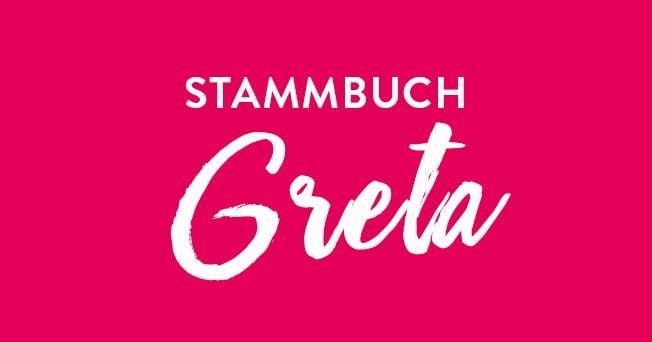 Stammbuch Künstler Hochzeit Greta