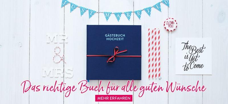 Hochzeitsgästebuch in edlem Design