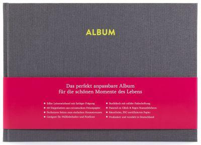 Album Pia Platingrau frontal mit Banderole